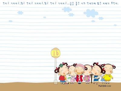 Wallpaper in cartoon  Korean cartoon   mrk Cong
