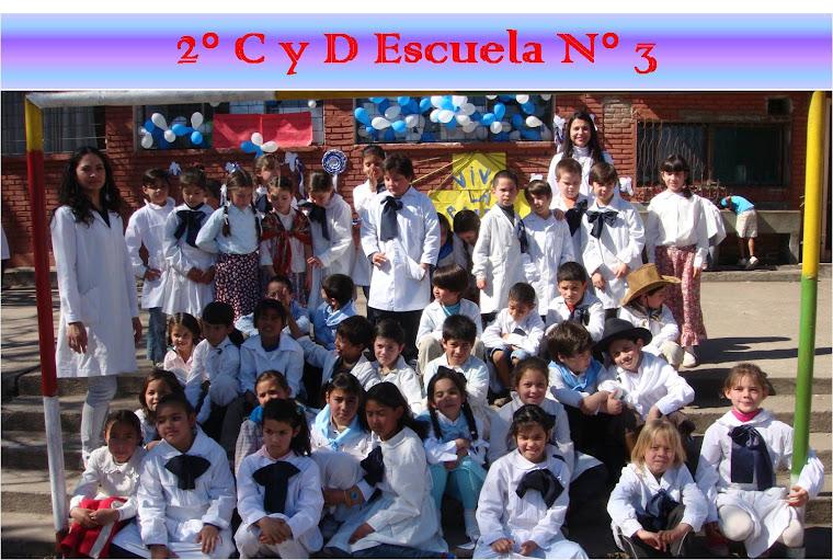 SEGUNDOS C Y D ESCUELA Nº3