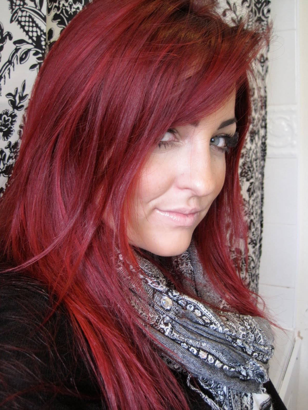 Cherry Coke Red Hair Dye Images
