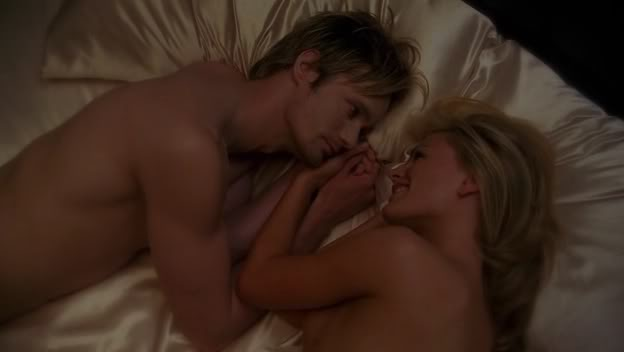 """Sookie: """"I am a darling."""" Eric: """"No, but you're ruthless when it comes to"""