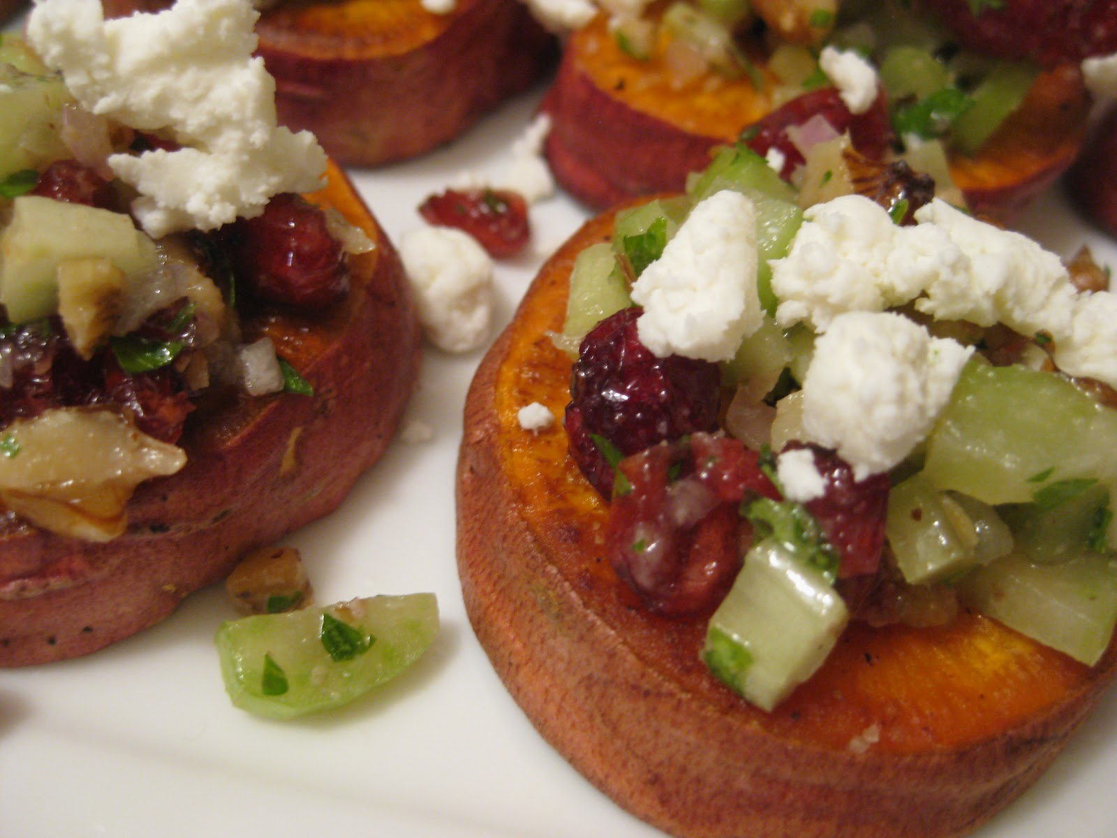food for scot: Sweet Potatoes with Pecans, Goat Cheese and ...