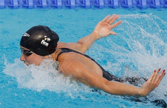 Gabriela Silva Semi finais 50 borboleta Roma 2009