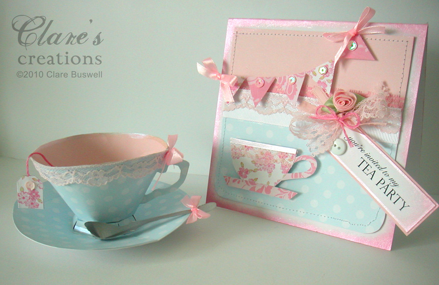 tea party Clares creations