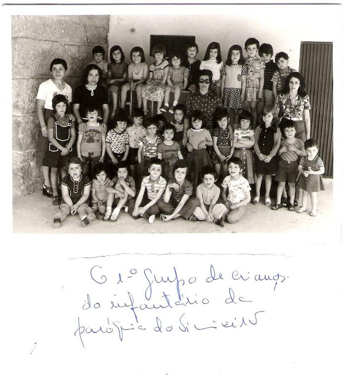 1º grupo de crianças do infantário