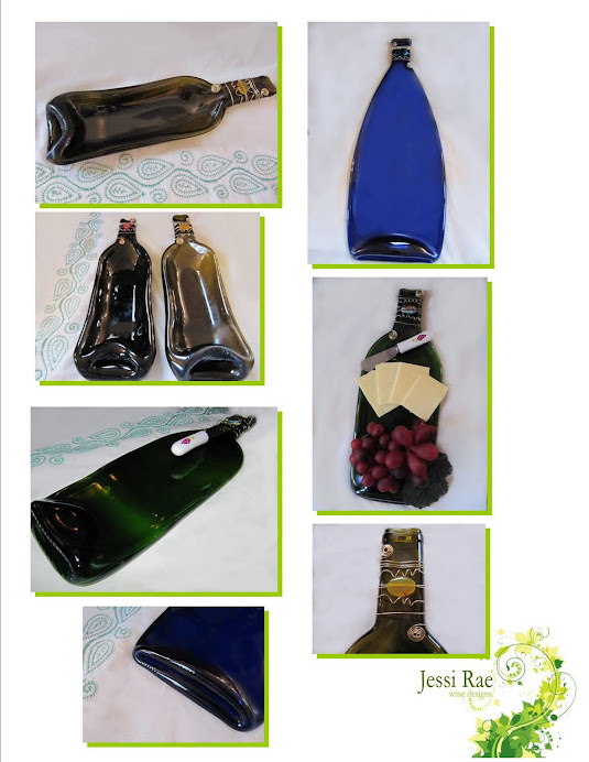 Wine Bottle Cheeseboards &amp; Dishes