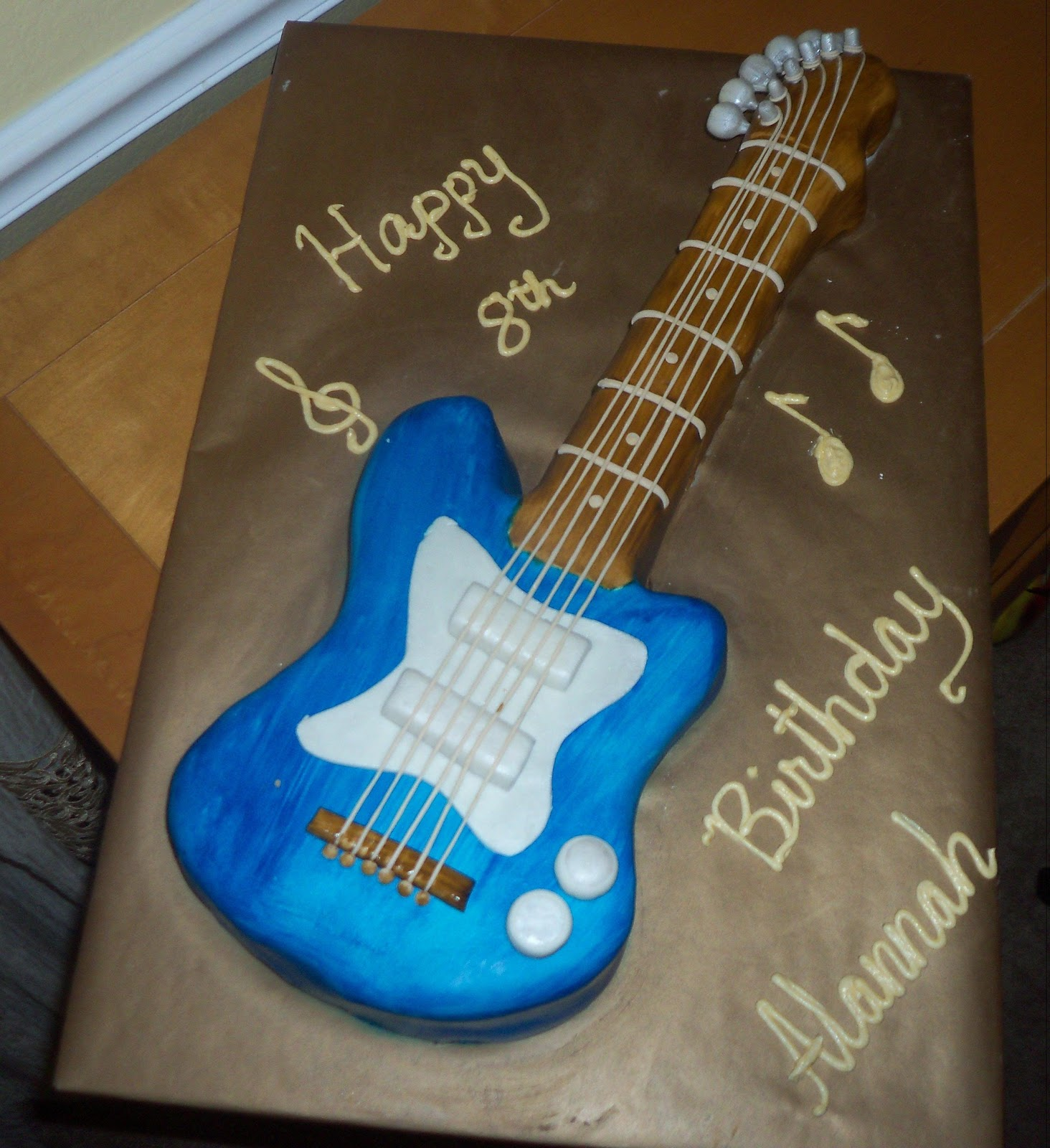 Easy guitar cake ideas 14771 guitar cake template http mim for Guitar templates for cakes