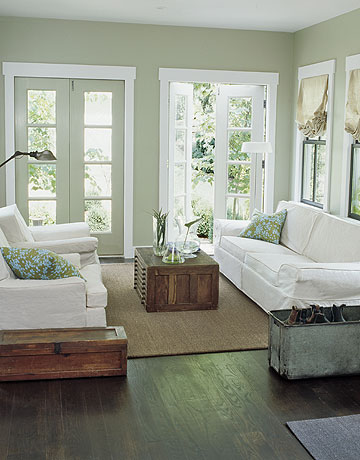 Love The French Doors That Make The Outdoors Seem Like Part Of The