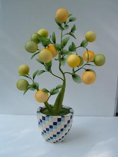 Hoa voan chậu vuông, tròn