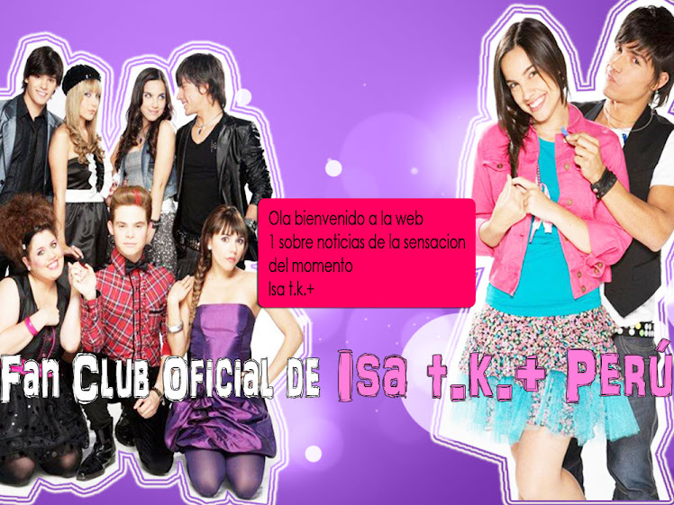 Fan Club de Isa t.k.+  Peru