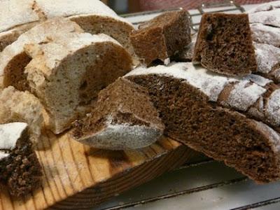 pan negro y pan de centeno