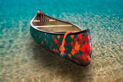 Belettering kano