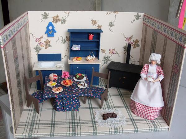 COZINHA-mesa , cadeiras,  pia  fogão , louceiro
