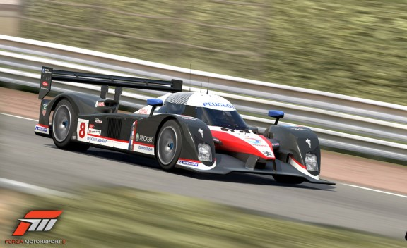 Forza Motorsport 3 The fastest race car the Peugeot 908