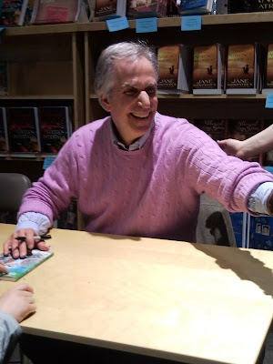 Henry Winkler book reading