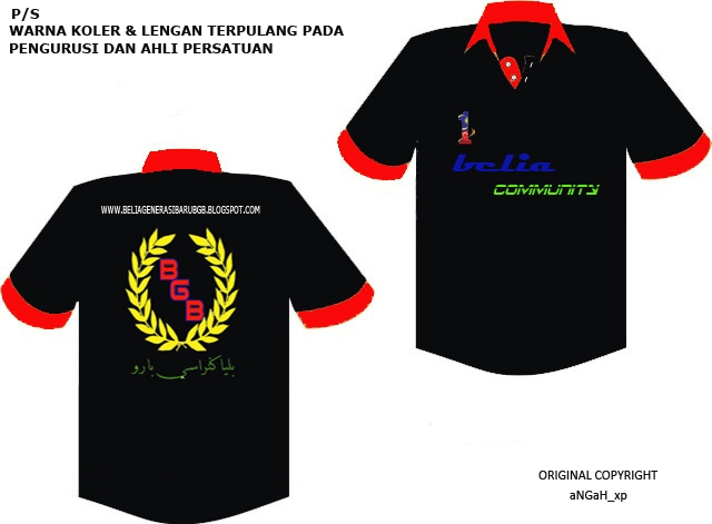 DESIGN BAJU T-SHIRT BGB