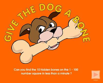 Give The Dog A Bone Math Game
