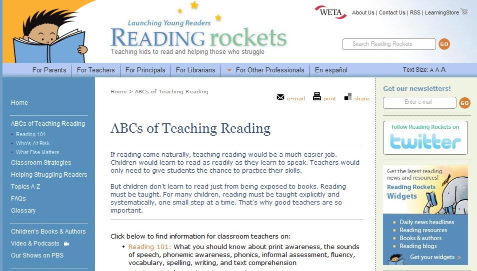 abcs of teaching reading reading rockets some of the