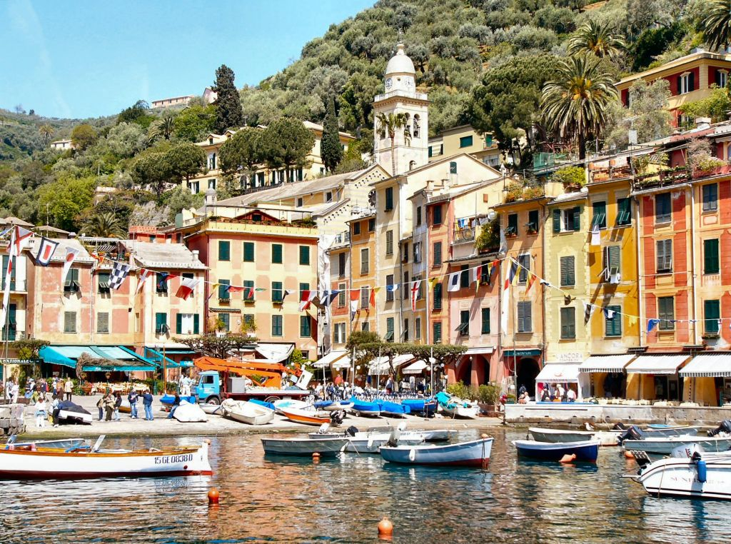 Travel Portofino City In Italy Beautiful Destinations