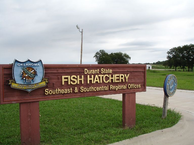 garver garver lands design at oklahoma fish hatchery