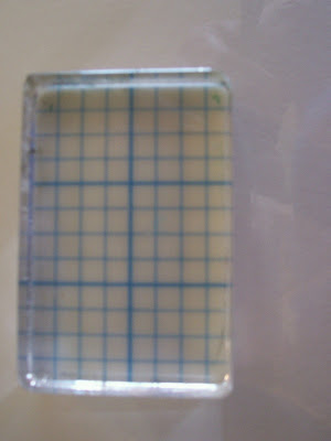 Paperfriendly Easy Does It Add A Grid To An Acrylic Block