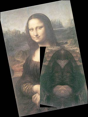 Mensaje Oculto en las pinturas de Leonardo Da Vinci ... Da Vinci Paintings Mirrored