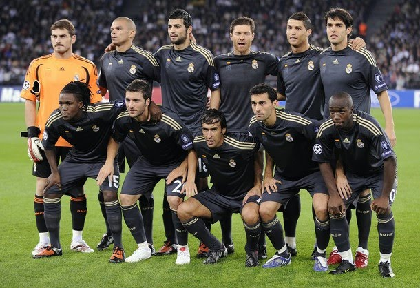 Real Madrid Soccer Team Players