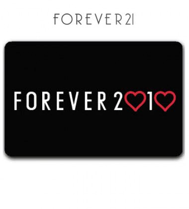 Forever 21 Gift Card (I seem to receive as least one of these every ...