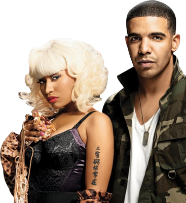 nicki minaj and drake wedding pictures. Drake amp; Nicki Minaj made a