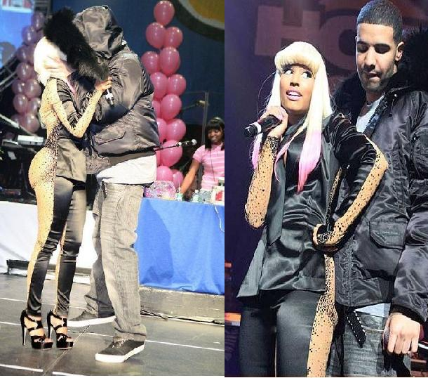 pics of nicki minaj and drake kissing. now kissing Nicki Minaj,