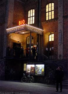 hagabion, biograf, göteborg, kväll, wadling, den sjungande korpen, cinema