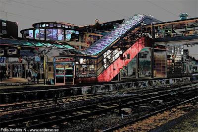 Hässleholm, järnvägsstation, Hässleholms central, Hässleholms station, centralstation, tåg, perrong, järnväg, stambanan, skåne, foto anders n