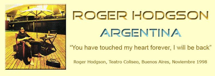 Roger Hodgson en Argentina