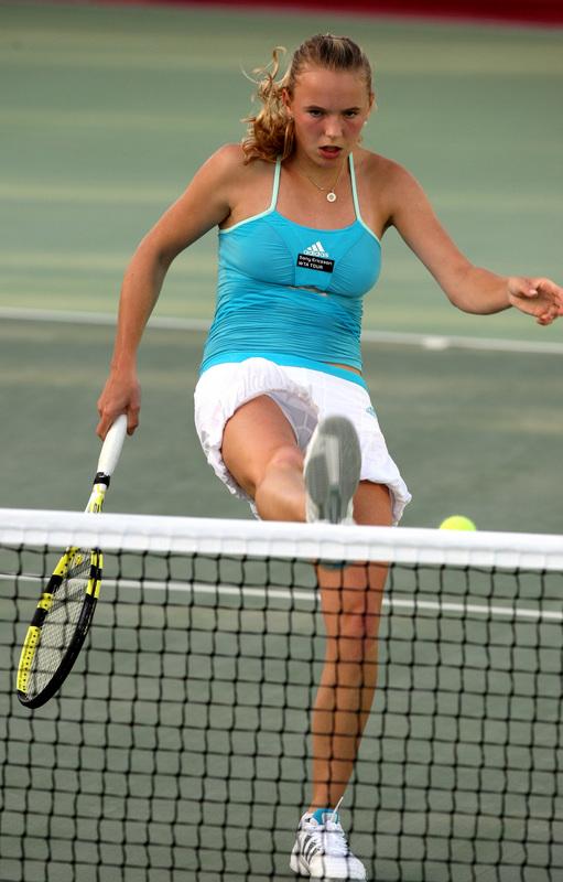 hot caroline wozniacki pics. Caroline Wozniacki Hot.