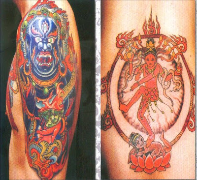 Japan tattoos hinduism tattoo