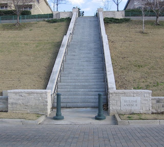 Huling Avenue Steps, Memphis Riverfront