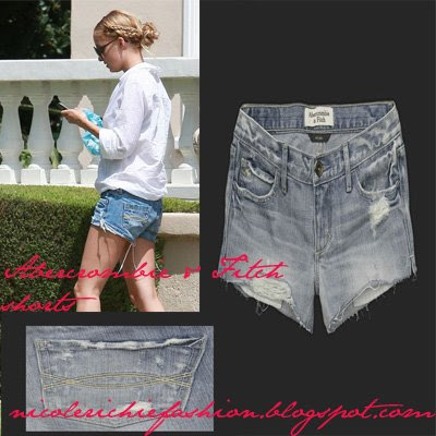 Nicole Richie Jean Shorts. You can buy these shorts from