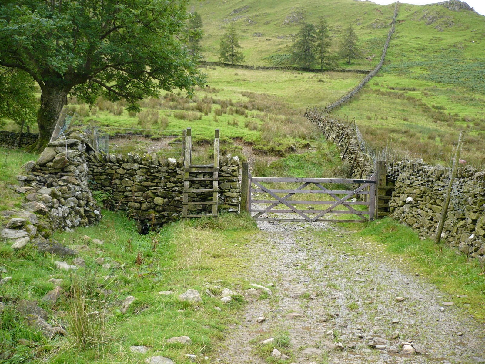 Hartsop hall cottages 171 walking holiday cottages walking - Through The Gate And Then Follow The Wall Up To Hartsop Dodd
