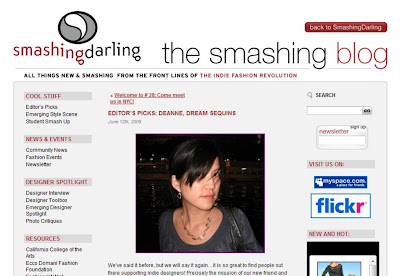 Editor Picks on Smashing Darling blog @ Dream Sequins