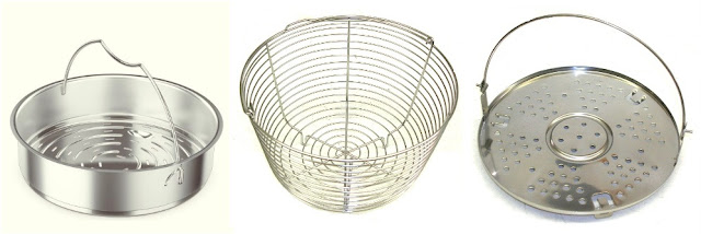 pressure cooker steamer baskets