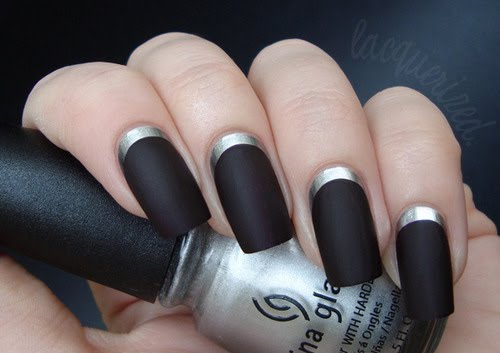 The Cool French nail designs 2015 Pics