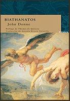 BIATHANATOS, DE JOHN DONNE (EL COBRE)