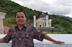 Di atas Kantor Gubernur Gorontalo