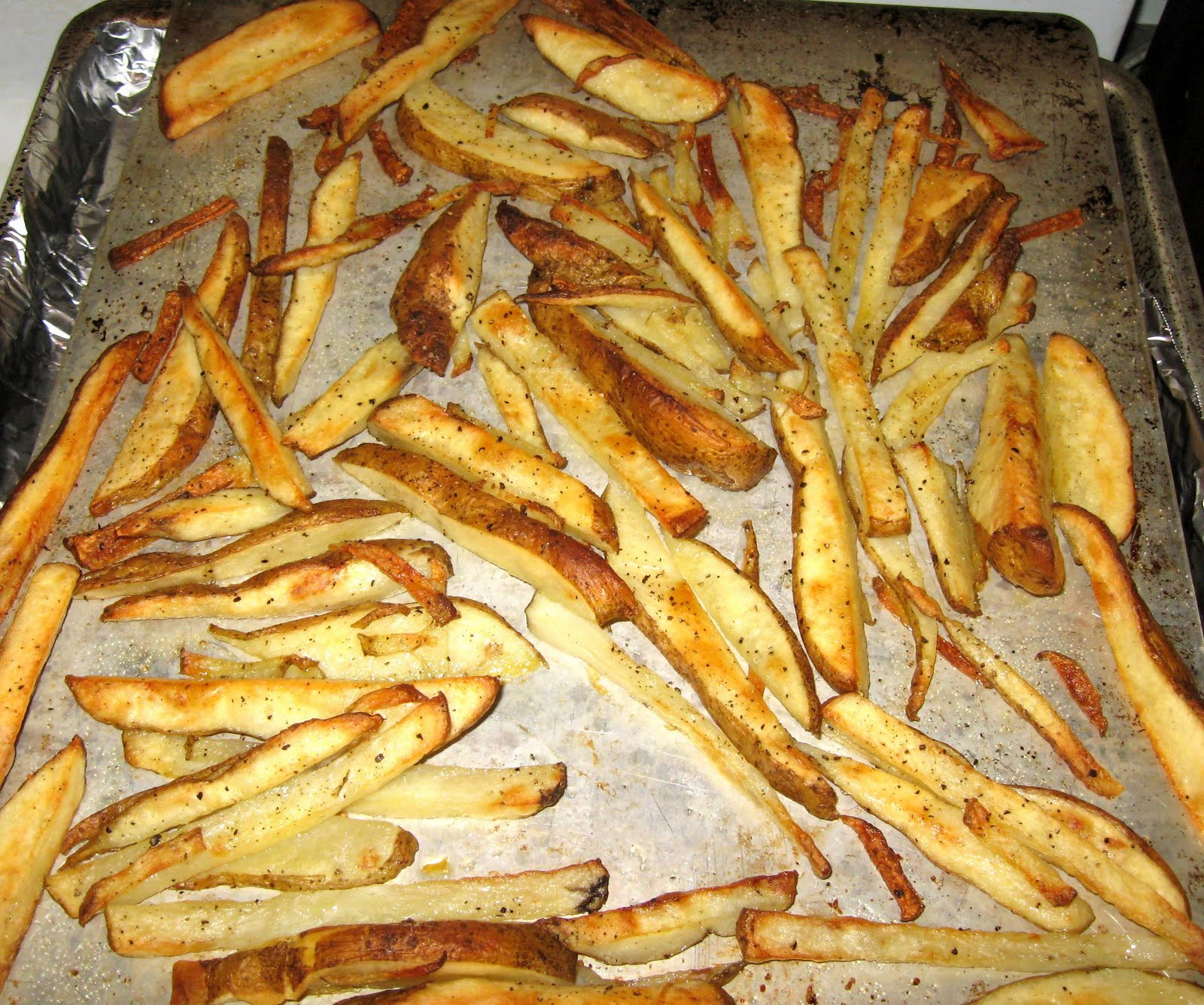 Debbi Does Dinner... Healthy & Low Calorie: Oven Baked French Fries