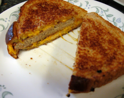 Grilled cheese is very popular in this house. We make it all the time ...
