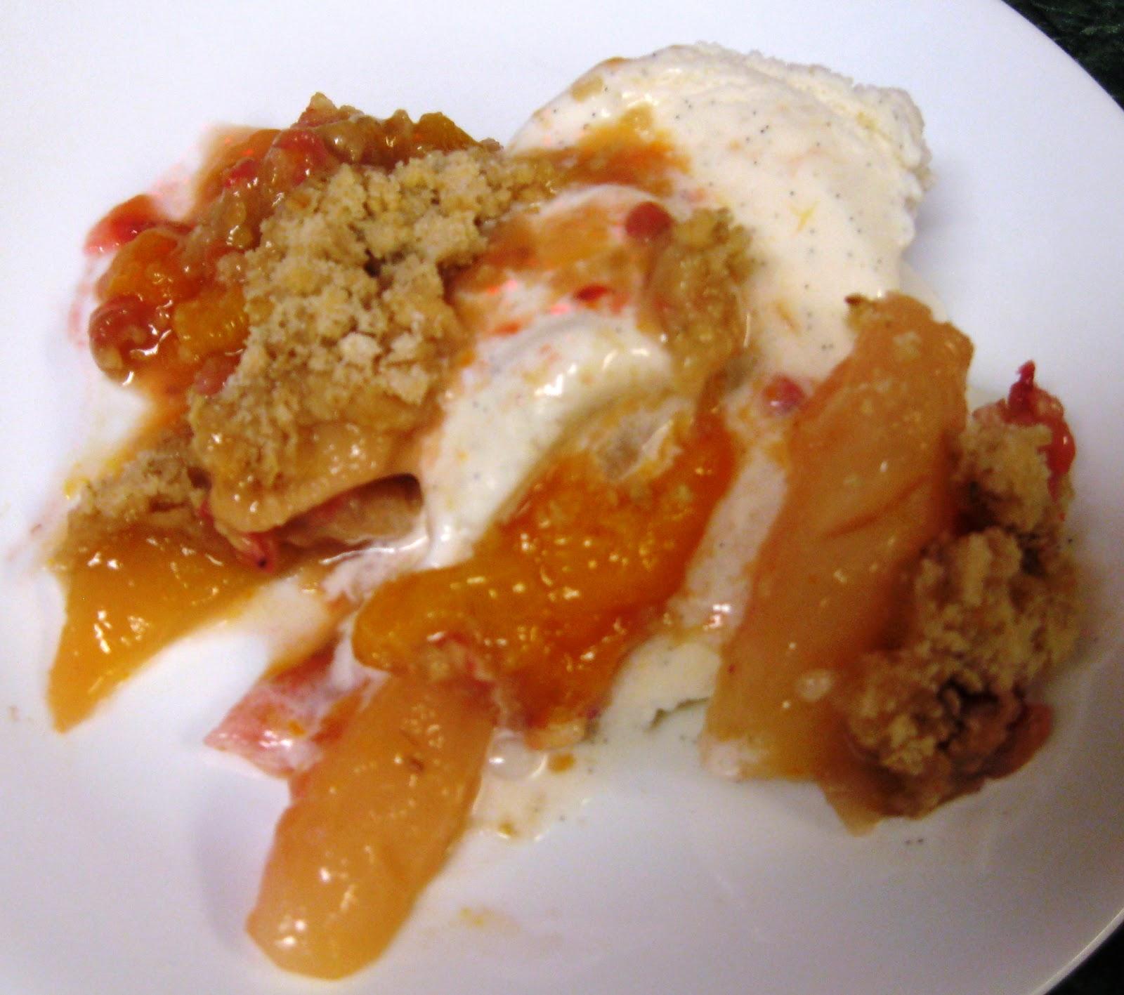 Debbi Does Dinner... Healthy & Low Calorie: Fruit & Berry Crisp