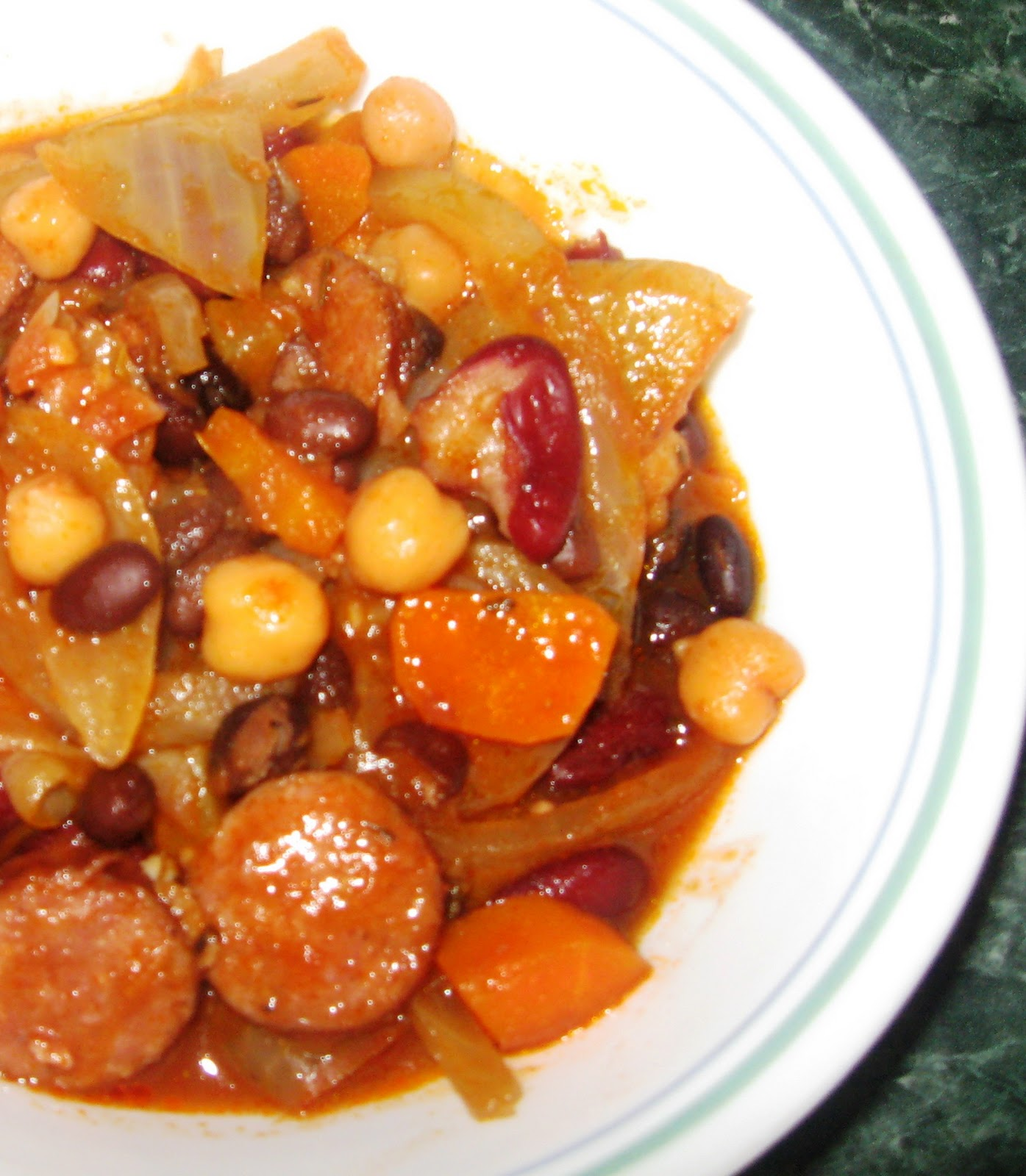 Italian 'Cassoulet' With Sausage And Beans Recipe — Dishmaps