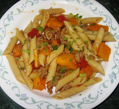 ... & Low Calorie: Butternut Squash Penne Pasta & Presto Pasta Nights