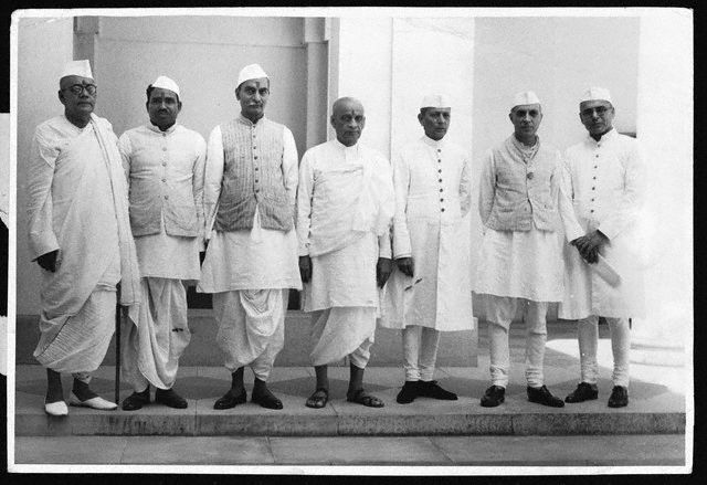 Members of India's Interim Government 1946