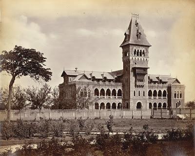 Elphinstone+College,+Bombay+1870