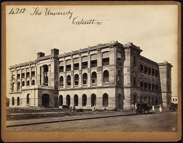The Calcutta (Kolkata) University - Mid 19th Century